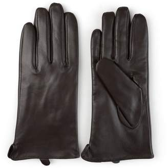 Journee Collection Women's Leather Lined Gloves