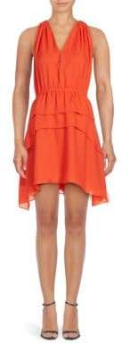Derek Lam 10 Crosby Silk V-Neck Dress