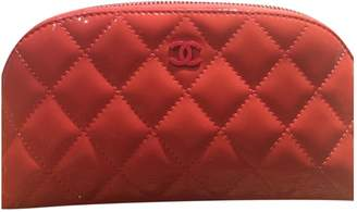 Chanel Other Patent leather Clutch Bag