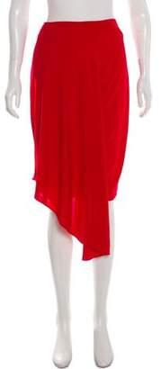 Ohne Titel Draped Knee-Length Skirt w/ Tags