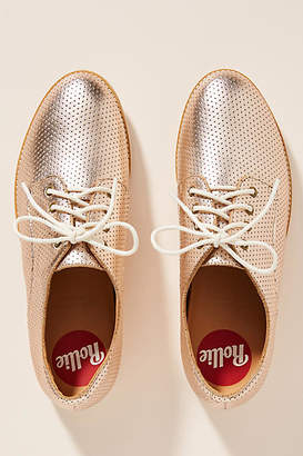 Rollie Derby Metallic Oxford Loafers