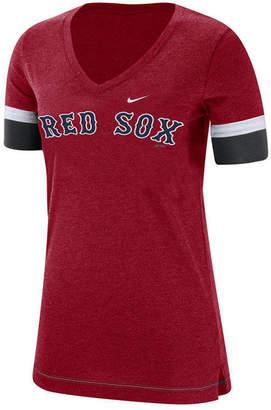 Nike Women Boston Red Sox Tri-Blend Fan T-Shirt