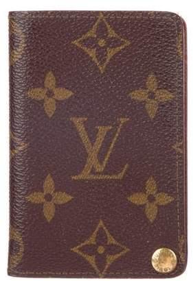 Louis Vuitton Monogram Pocket Photo Album