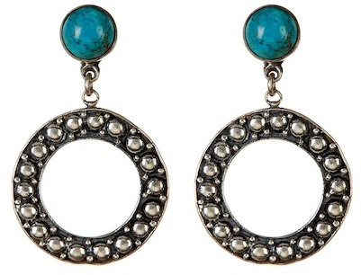 Exex Design Jewelry Sterling Silver Panama Circular Earrings