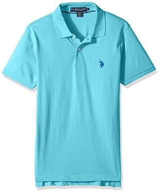 U.S. Polo Assn. Men's Slim Fit Solid Short Sleeve Jersey Shirt