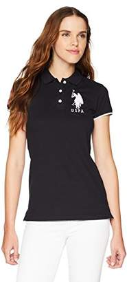 U.S. Polo Assn. Women's Contrast Patch Shirt