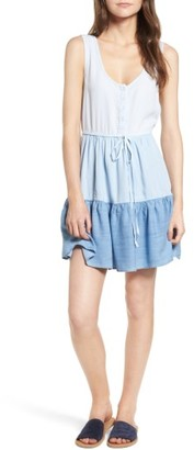 Women's Rails Noelle Tiered Chambray Dress $158 thestylecure.com