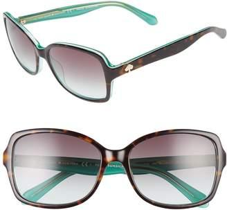 cefc12d63f6 Kate Spade Brown Women s Sunglasses - ShopStyle