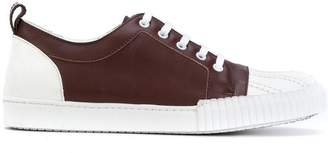 Marni shell toed lace-up sneakers