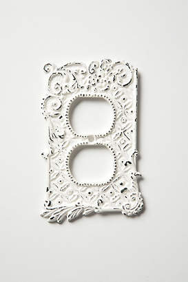 Anthropologie Tin Roof Outlet Cover