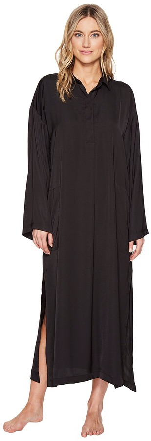 DKNY DKNY - Fashion Long Sleeve Maxi Sleepshirt Women's Pajama