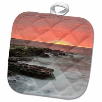 3dRose Brenton Point SP, Newport, Rhode Island - US40 JMO0004 - Jerry and Marcy Monkman - Pot Holder, 8 by 8-inch