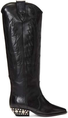 Isabel Marant Black Dinzi Boots
