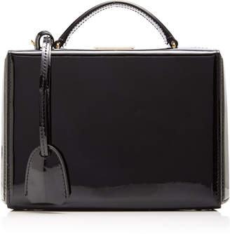 0d383d7995dc Mark Cross Grace Small Patent Leather Box Bag