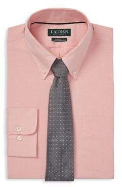 Lauren Ralph Lauren Classic-Fit Gingham Dress Shirt.