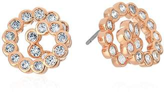 Kate Spade Glitz and Glam Spiral Gold Stud Earrings