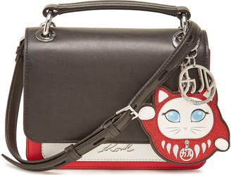 Karl Lagerfeld K/Tokyo Leather Handbag