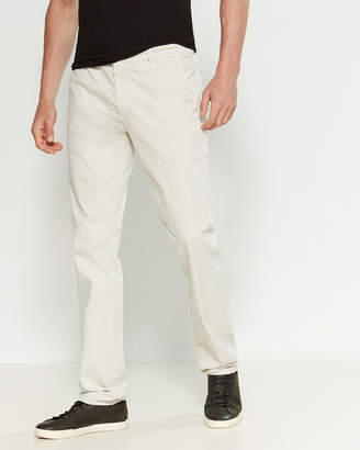 AG Adriano Goldschmied The Lux Khaki Tailored Trouser