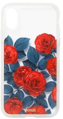 Sonix Rose Garden Clear Coat iPhone X Case