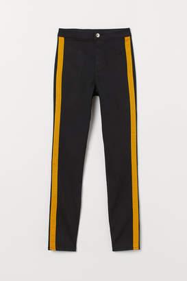 H&M Super Skinny High Ankle Jeans - Black