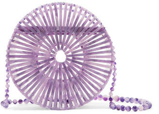 Cult Gaia Luna Acrylic Shoulder Bag - Lilac