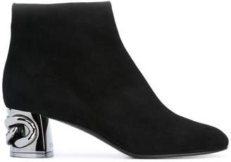 Casadei Maxi Chain ankle boots