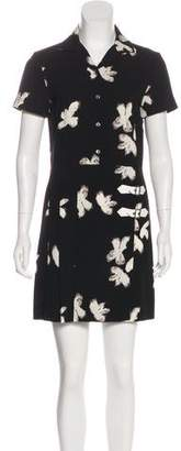 Marc by Marc Jacobs Floral Print Pleated Dress