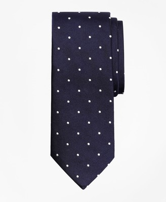 Brooks Brothers Dot Rep Tie