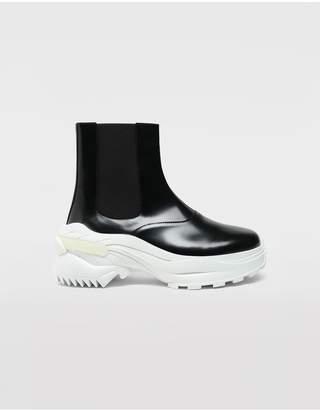 Maison Margiela Leather Ankle Boots