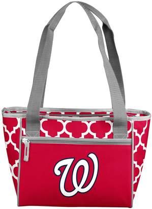 Logo Brand Washington Nationals 16-Can Cooler Tote