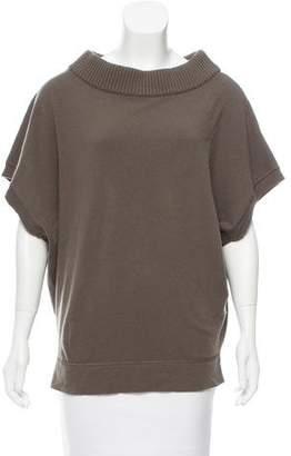 Balenciaga Wool-Cashmere Sleeveless Sweater