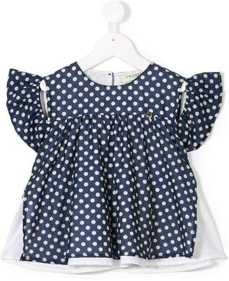Twin-Set Kids polka dot blouse