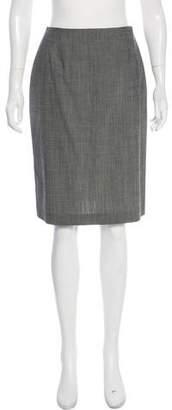 Philosophy di Alberta Ferretti Wool Knee-Length Skirt w/ Tags