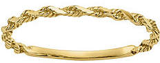 QVC 14K Gold Twisted Rope Ring