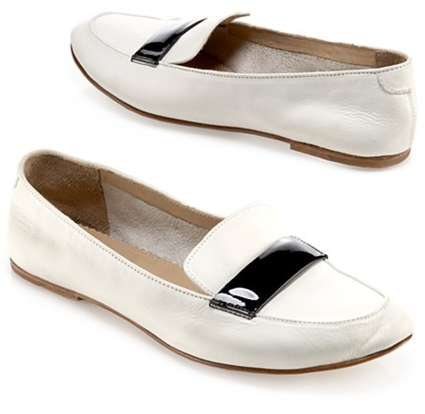 Rag & Bone Loafer with Patent Band