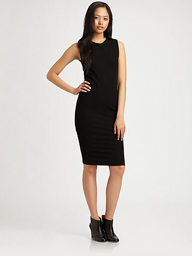 Vince Fitted Sheath Dress