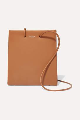 MEDEA - Prima Short Small Leather Tote - Brown