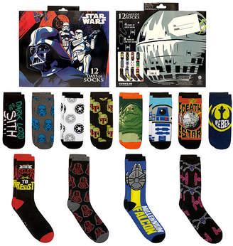 Star Wars STARWARS 12 Days of Socks Men's