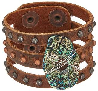 Leather Rock Serena Bracelet Bracelet