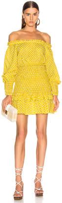 Alexis Marilena Dress in Yellow Dot   FWRD