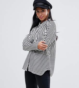 Vero Moda Petite petite stripe shirt