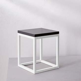 west elm Side Table - Gray Glass Surface