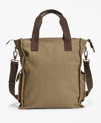 Brooks Brothers Canvas Tote