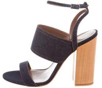 Tabitha Simmons Stevie Denim Sandals w/ Tags