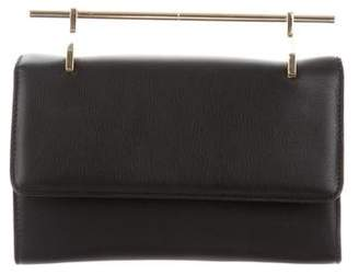 M2Malletier Leather Shoulder Bag