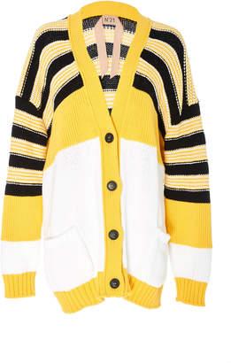 N°21 N 21 Adelina Stripe Detail Cardigan
