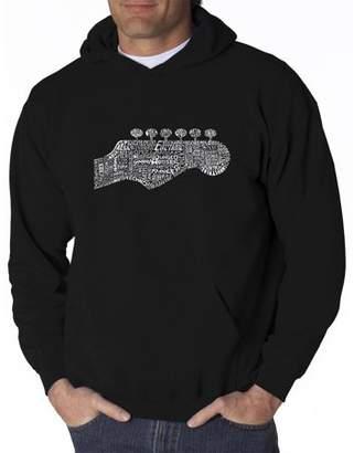 Pop Culture Big Men's Hoodie - Guitar Head