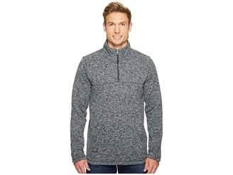 Quiksilver Waterman Mormont Tre 1/4 Zip Pullover Men's Long Sleeve Pullover
