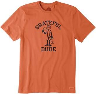 Life is Good Men's Crusher Grateful Dude Tee