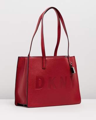 DKNY Commuter Logo Tote